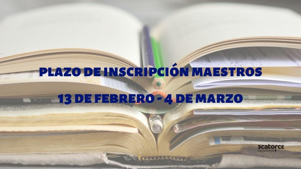 Abierto-plazo-inscripcion-oposiciones-maestros-2019-Cantabria Abierto plazo inscripcion oposiciones maestros 2019 Cantabria