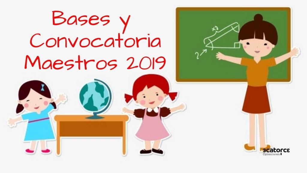 Bases-Convocatoria-oposiciones-maestros-2019-Cantabria Bases Convocatoria oposiciones maestros 2019 Cantabria