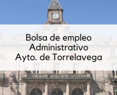 Bases bolsa Administrativo Torrelavega 2019