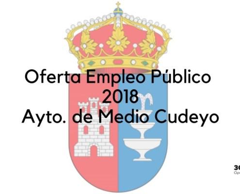 Oferta Empleo Publico 2018 Medio Cudeyo Cantabria