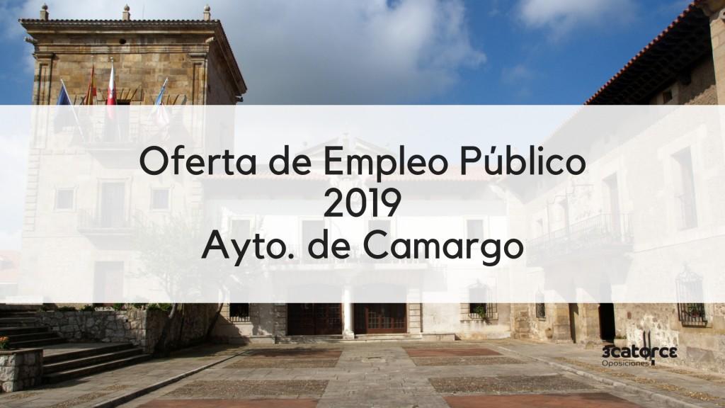 Oferta-Empleo-Publico-2019-Camargo-Cantabria Oferta Empleo Publico 2019 Camargo Cantabria