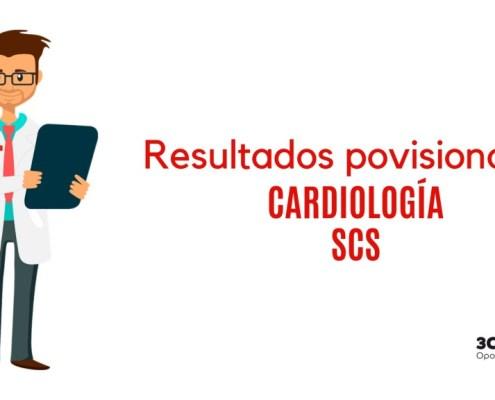 Resultados provisionales examene FEA Cardiologia SCS