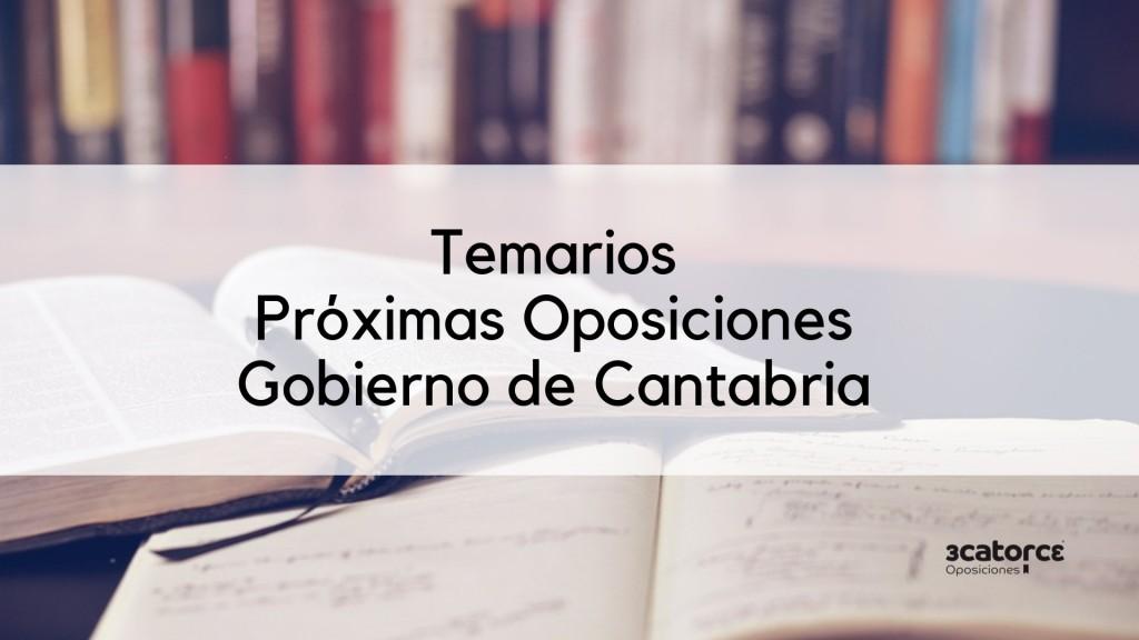 Temarios-OPE-Cantabria-2019-1 Temarios Cantabria Oposiciones 2019 Personal Laboral