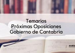 Temarios-OPE-Cantabria-2019-1 Oposiciones administrativo ayuntamientos Cantabria