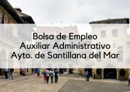 Bases-bolsa-auxiliar-administrativo-2019-Santillana-del-Mar-1 Temario Auxiliar Administrativo Santander