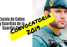 Convocatoria-Guardia-Civil-2019 Preparador Guardia Civil