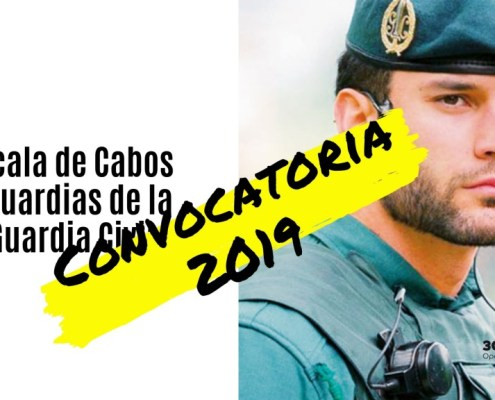 Convocatoria Guardia Civil 2019