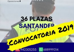 Convocatoria-Policia-Local-Santander-2019 Amplizacion plazas Policia Local Camargo