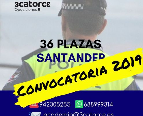 Convocatoria Policia Local Santander 2019