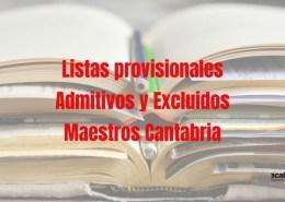 Lista-admitidos-provisional-maestros-2019-Cantabria Oposiciones primaria Cantabria