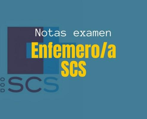 Resultados provisionales examen Enfemero SCS 2019