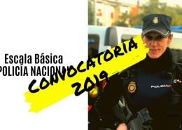 Convocatoria-Escala-Basica-Policia-Nacional-2019 Preparación pruebas fisicas policia nacional
