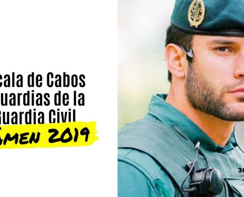 Fecha examen Guardia Civil 2019