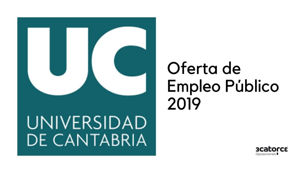 Oferta-Empleo-Publico-Universidad-Cantabria-2019 Oferta Empleo Publico Universidad Cantabria 2019