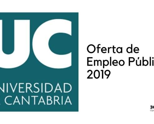 Oferta Empleo Publico Universidad Cantabria 2019