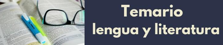 temario-oposiciones-lengua-castellana-literatura-cantabria Preparador oposiciones lengua Cantabria