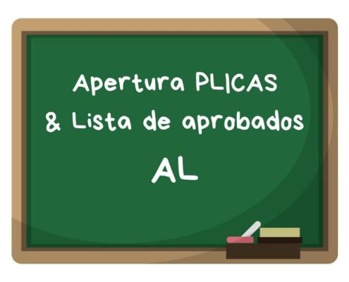 Convocatoria apertura PLICAS audicion y lenguaje Cantabria 2019 y listas aprobados