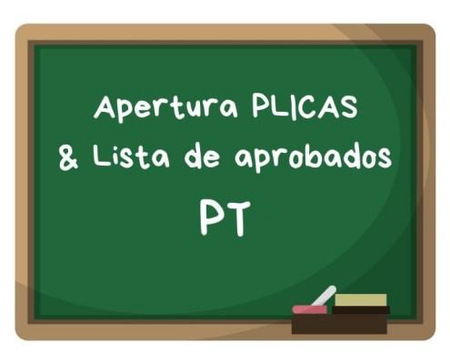 Convocatoria apertura PLICAS pedagogia terapeutica Cantabria 2019 y listas aprobados