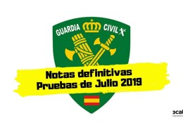 Notas-definitivas-examen-Guardia-Civil-2019 Oposición Guardia Civil
