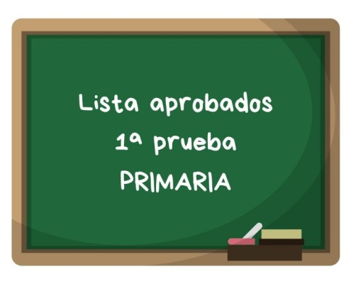Notas primera prueba maestros primaria Cantabria 2019
