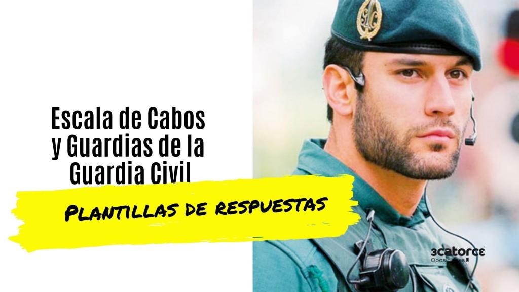 Plantilla-respuestas-examen-Guardia-Civil-2019 Plantilla respuestas examen Guardia Civil 2019