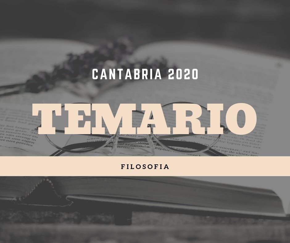 Temario-oposiciones-filosofia-Cantabria-2020 Temario oposiciones filosofia Cantabria 2020
