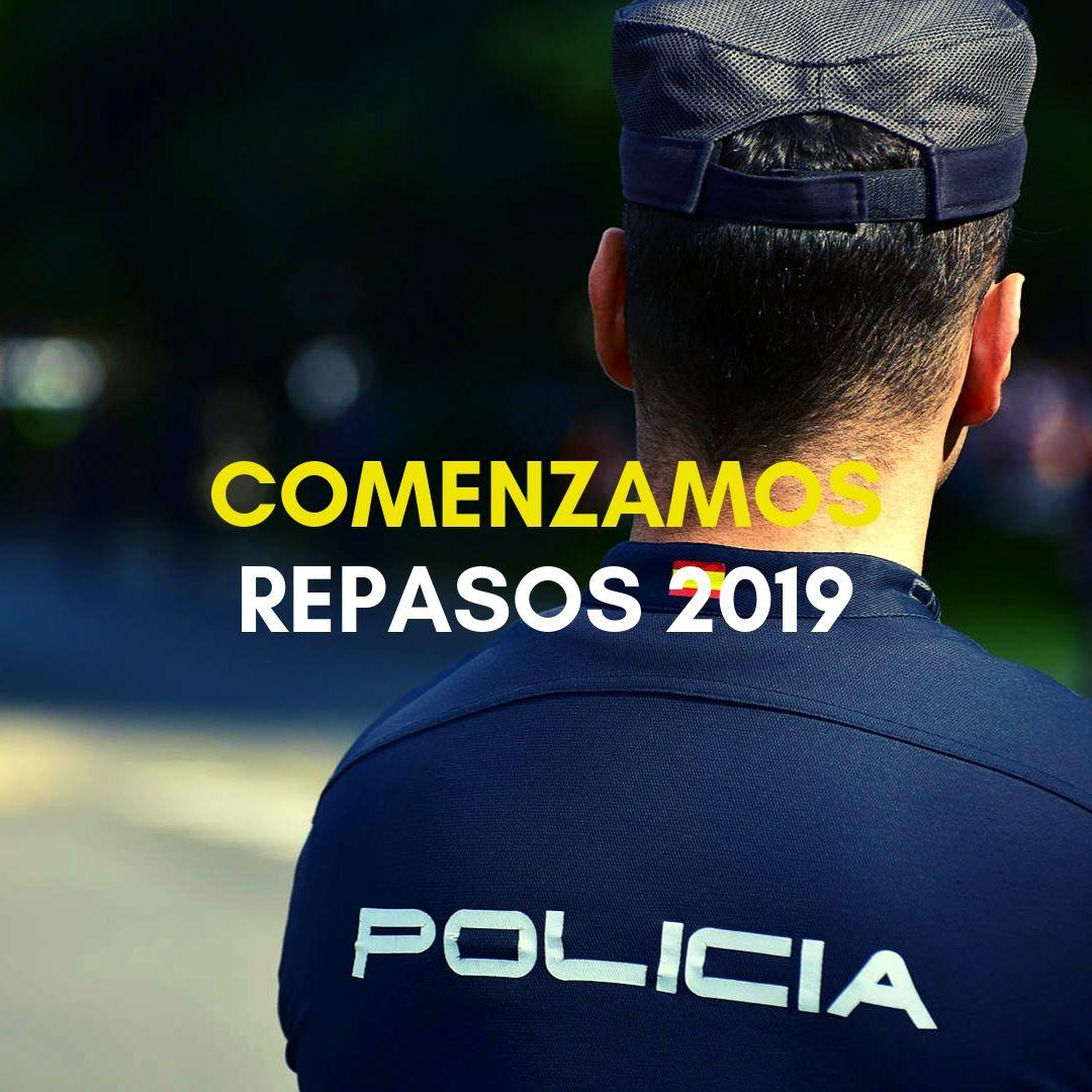 repasos-policia-nacional-2019 Nombramiento Policias alumnos 2019