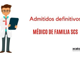 Admitidos-definitivos-oposicion-Medico-Familia-2019-SCS Fecha definitiva examen oposicion Auxiliar Enfermeria SCS Cantabria