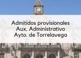 Admitidos-provisionales-Auxiliar-Administrativo-Torrelavega-2019 Convocatoria 2 plazas Administrativo Cantabria Parlamento