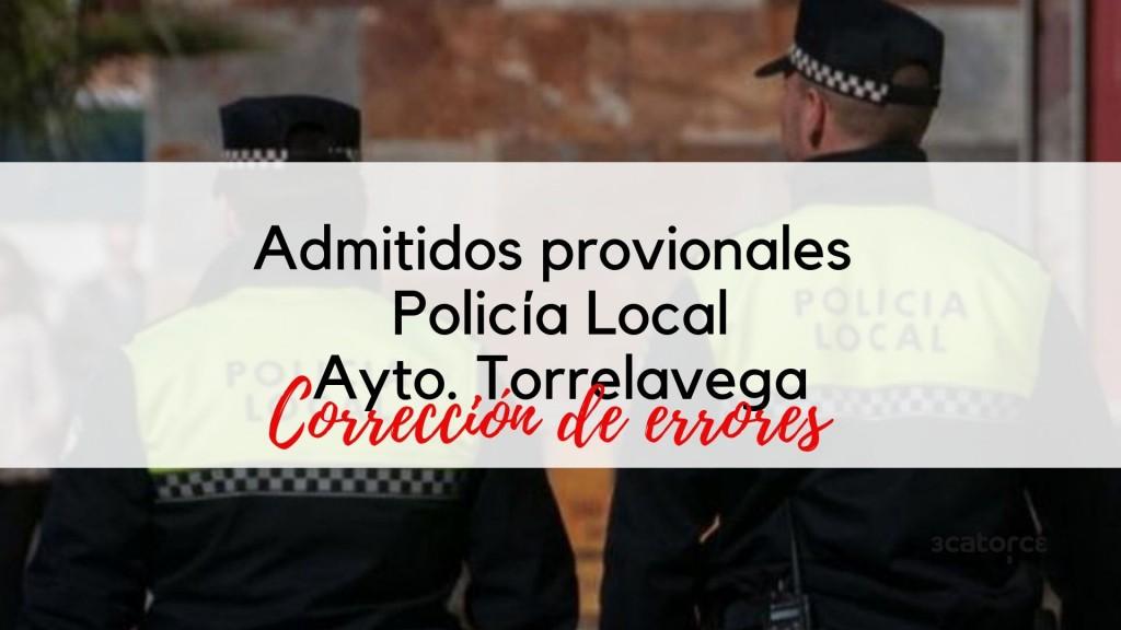 Admitidos-provisionales-Policia-Local-Torrelavega Admitidos provisionales Policia Local Torrelavega oposiciones libre