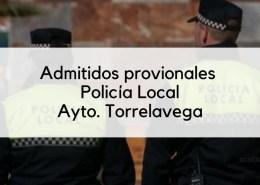 Admitidos-provisonales-Policia-Local-movilidad-Torrelavega 4 plazas Policia Local 2019 Cantabria Torrelavega