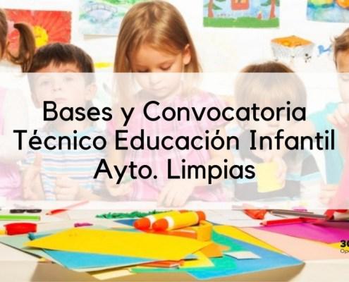 Bases y convocatoria Tecnico Educacion Infantil Limpias