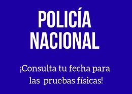 Fechas-pruebas-fisicas-Policia-Nacional-2019 Arrancamos sesiones preparacion Biodata entrevista policia nacional