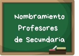 Nombramiento-profesores-secundaria-oposicion-2018 Notas segunda prueba infantil maestros Cantabria 2019