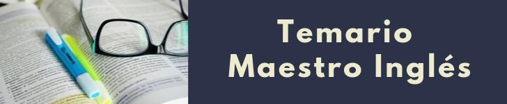 temario-Oposiciones-maestros-Ingles-2020-Cantabria Preparar Oposiciones Ingles 2019 2020 2021 Cantabria