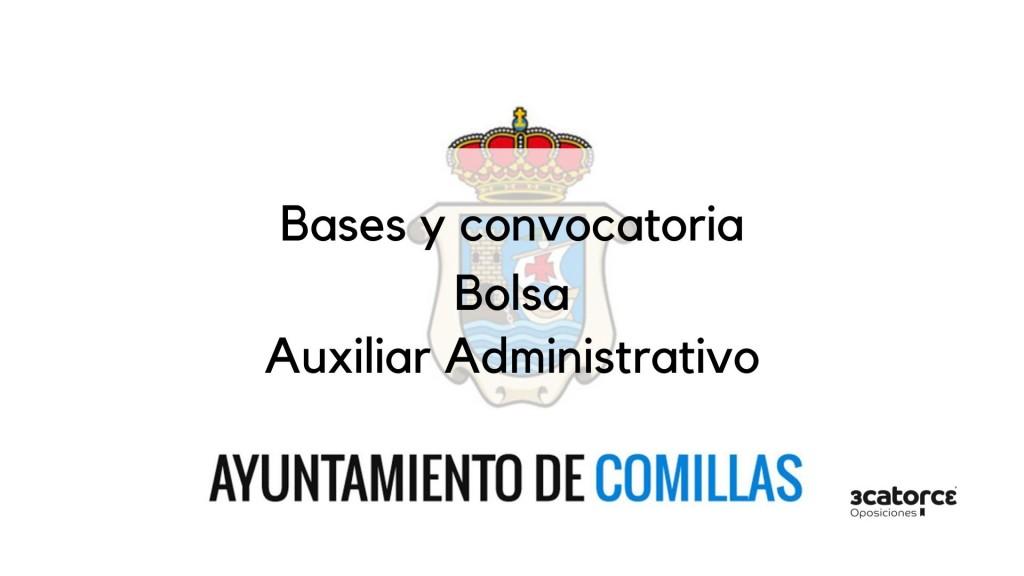 Bolsa-Auxiliar-Administrativo-Comillas-2019 Bolsa Auxiliar Administrativo Comillas 2019
