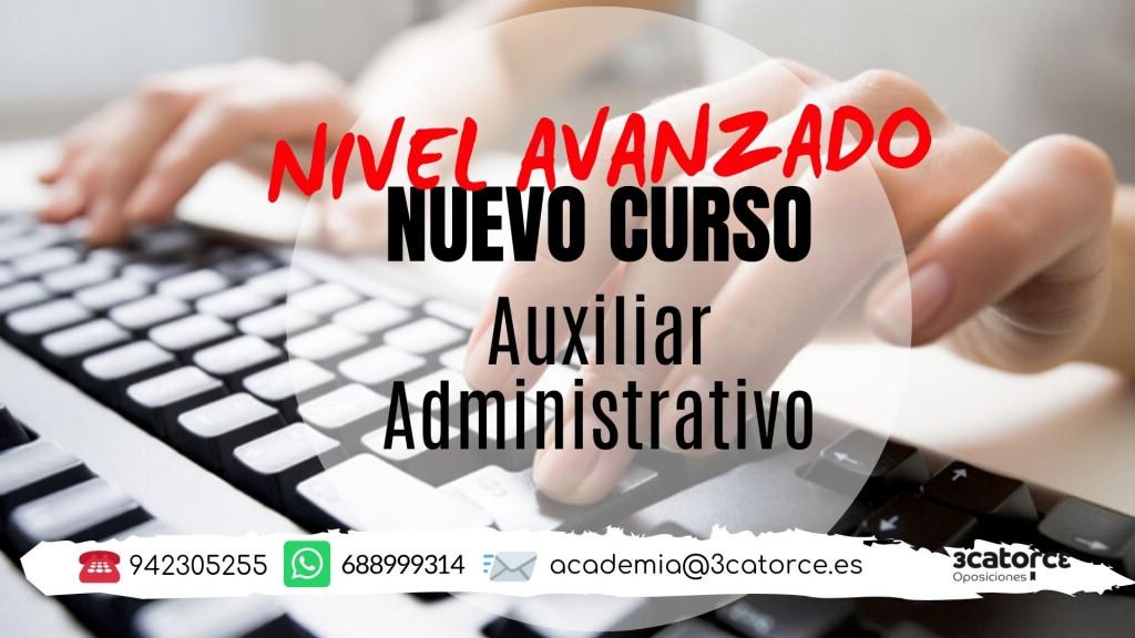 Nuevo-curso-AVANZADO-oposicion-Auxiliar-Administrativo-Cantabria-2020-1 Nuevo curso AVANZADO oposicion Auxiliar Administrativo Cantabria 2020