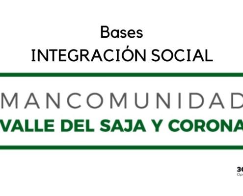 Bases Integracion Social Mancomunidad Saja y Corona 2019