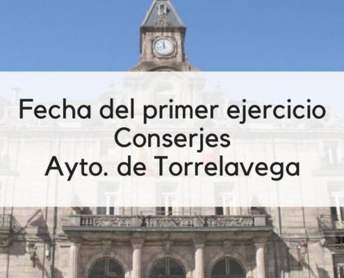 Fecha primer examen oposicion Conserje Torrelavega 2020
