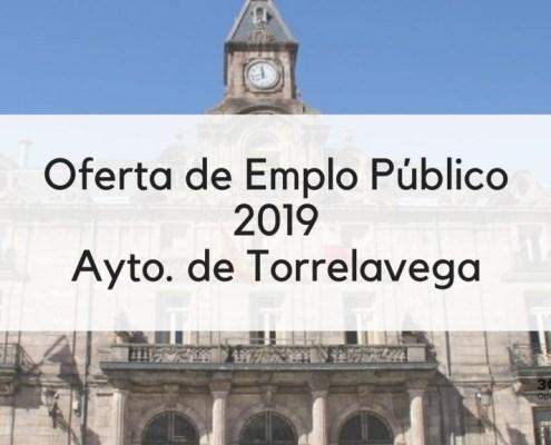 Oferta Empleo Publico Torrelavega 2019