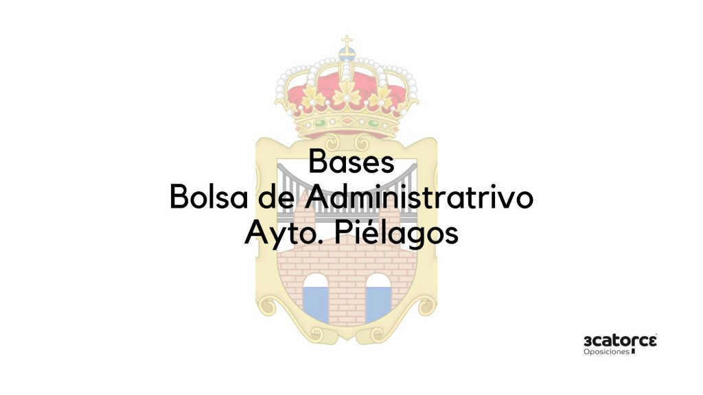Bases-bolsa-Administrativo-Pielagos-2020 Oferta Empleo Publico Pielagos 2020