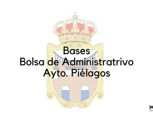 Bases bolsa Administrativo Pielagos 2020