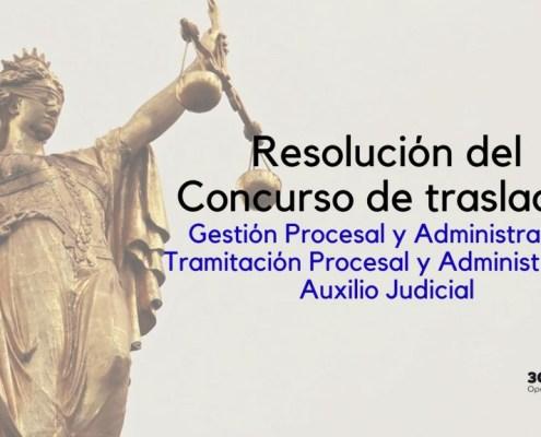 Resolucion concurso traslados Justicia 2020