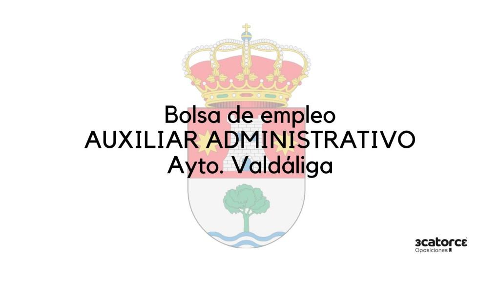 Bases-y-convocatoria-bolsa-auxiliar-administrativo-Valdaliga Bases y convocatoria bolsa auxiliar administrativo Valdaliga