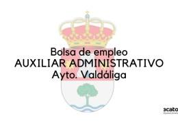 Bases-y-convocatoria-bolsa-auxiliar-administrativo-Valdaliga Oposiciones administrativo ayuntamientos Cantabria