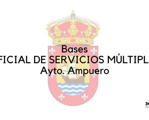 bases oposicion servicios multiples Ampuero 2020