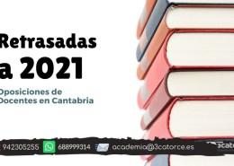 retraso-oposiciones-secundaria-cantabria Temario Oposiciones primaria