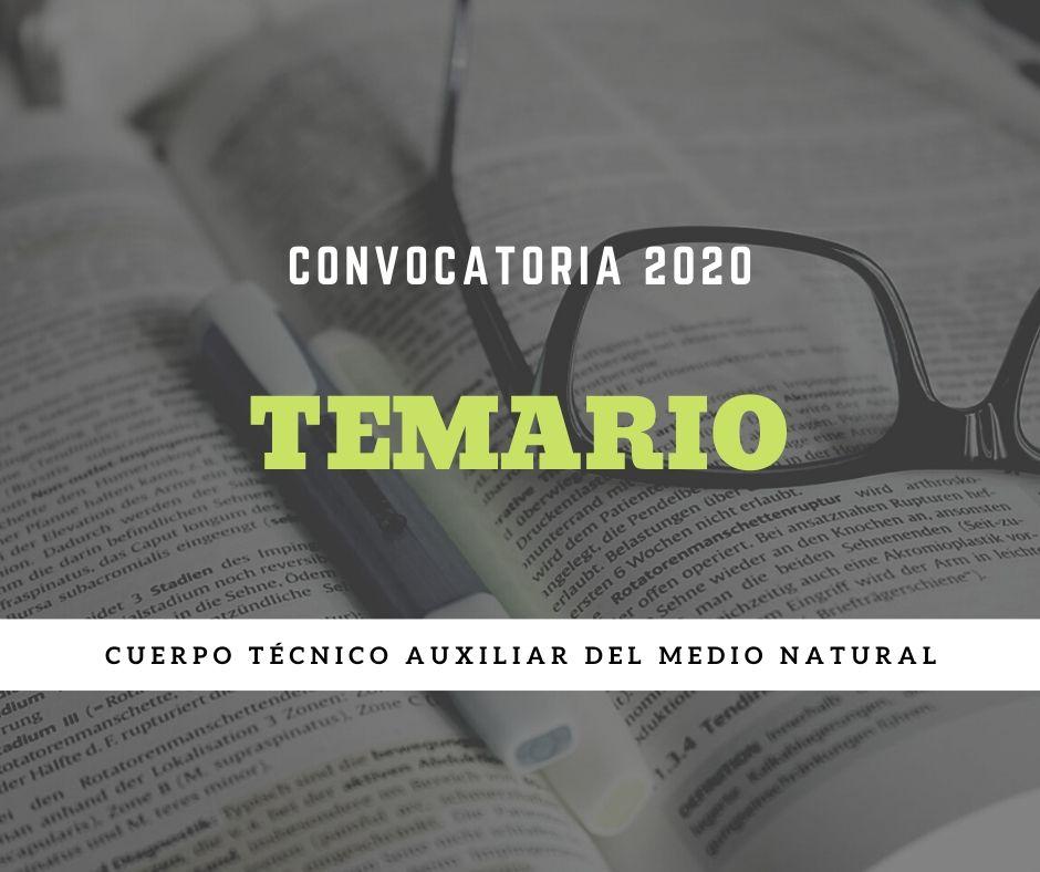 temario-medio-natural Temario oposiciones agente medioambiental Cantabria 2020