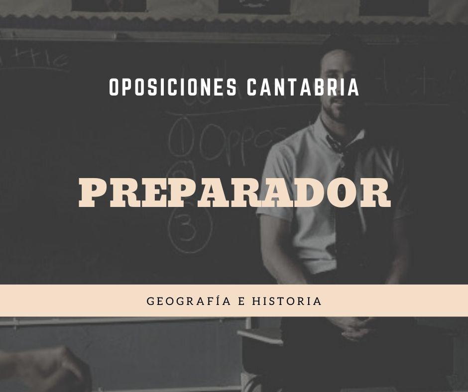 1-2 Preparador oposiciones Geografia Historia Cantabria