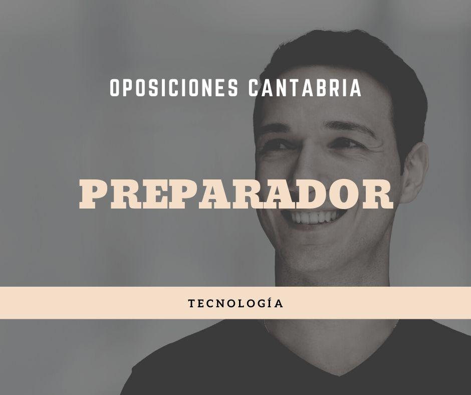 1-5 Preparador oposiciones tecnologia Cantabria